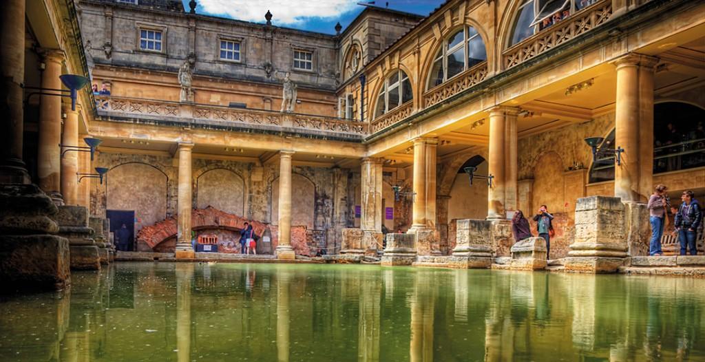 Die Nummer 1 der Kurorte: Bath in England/