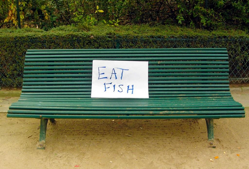 Omega-3 in Fisch enthalten