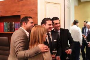 Dr. Saalabian mit Freunden (Fachkollegen aus Graz und der Rudolfsstiftung)