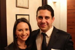 Dr. Saalabian mit Ehefrau