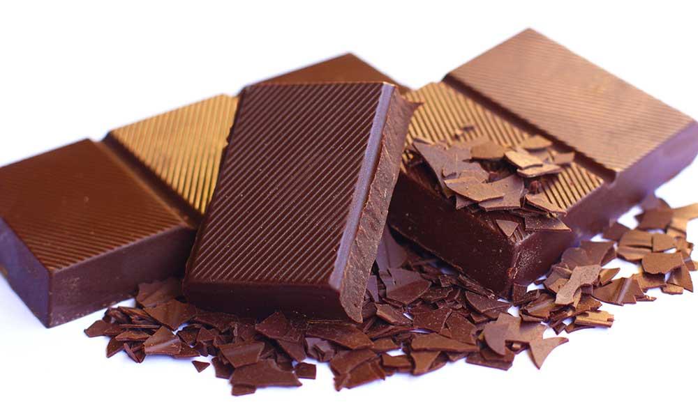 Schokolade schnupfen hebt die Stimmung